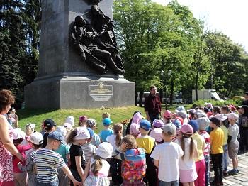 на мемориале воинам павшим в Первой мировой войне