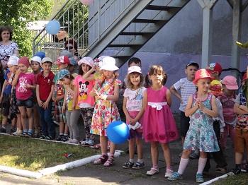 4-я группа на празднике